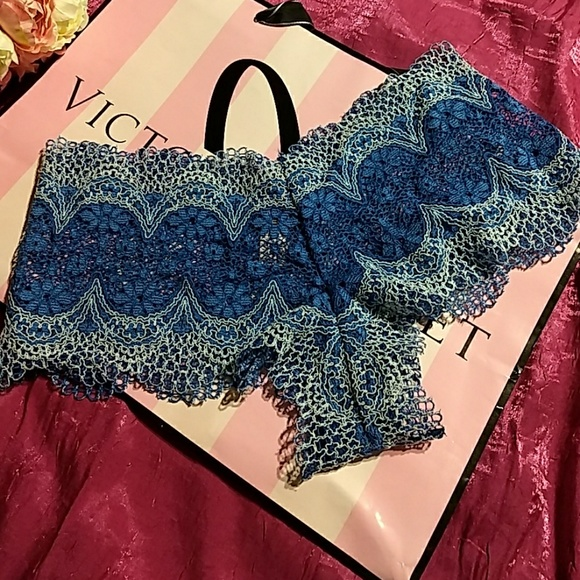 2f5c76906539c VS Crochet Lace Sexy Shortie Pantie Boutique